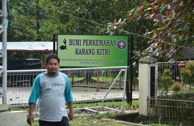 Bumi Perkemahan (Buper) Karang Kitri di Kecamatan Bojongmangu