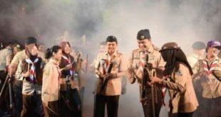 Diskusi publik bertajuk 'Sepekan Jelang Pemilihan: Siapa Punya Solusi Permasalahan di Kabupaten Bekasi'di gedung teater graha Pariwisata, Cikarang Timur, Rabu (10/04).