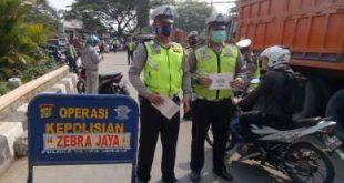Operasi Zebra Jaya oleh Anggota Satlantas Polres Metro Bekasi